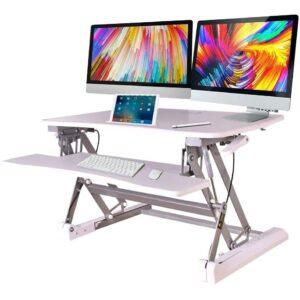Avante Height Adjustable Sit Stand Desk Riser