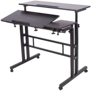 LaCyan Adjustable Height Sit Stand Desk