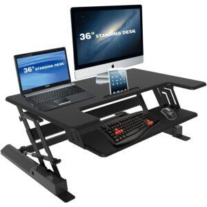 Screen Mounts Sit Stand Desk